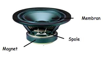 hur fungerar en högtalare