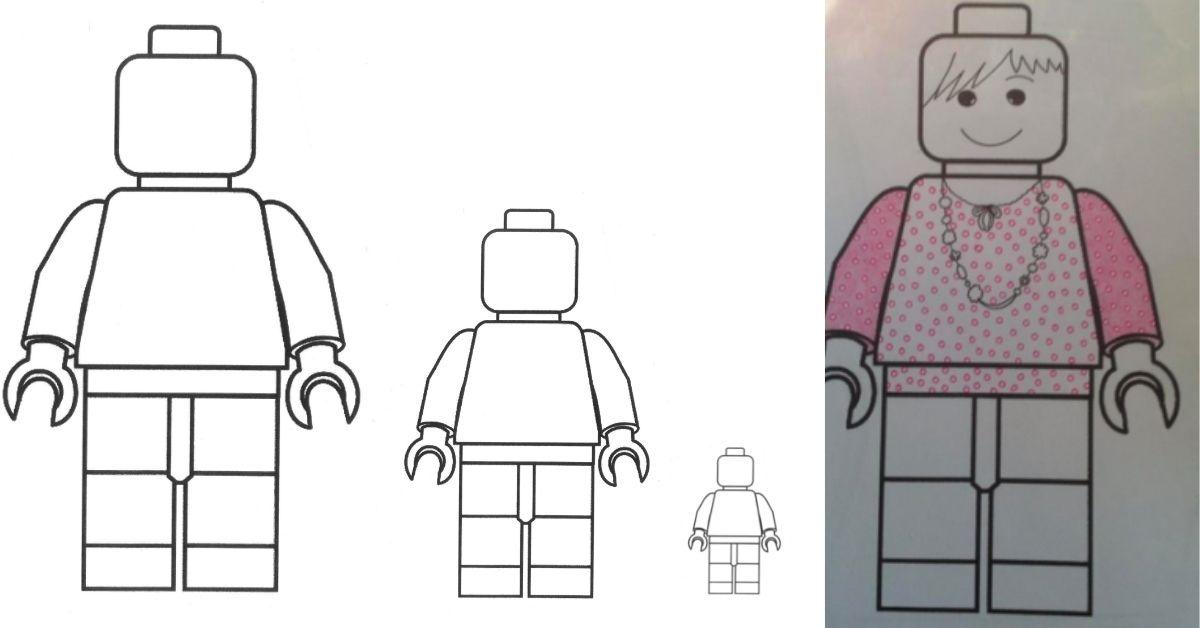 Måla porträtt med LEGO