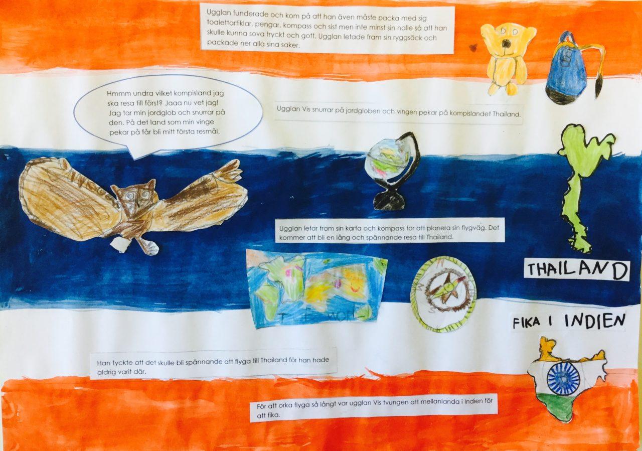 Stafettskriva om normer och värden - Ett projekt av Visättraskolan