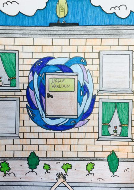 Ett skrivprojekt från Visättraskolan
