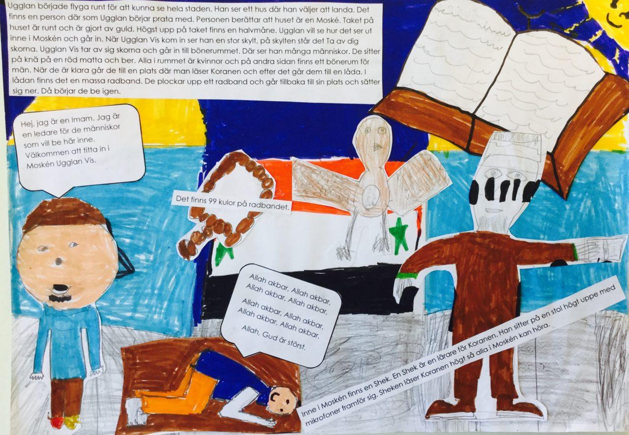 Ett skrivprojekt av Visättraskolan