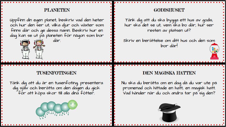 Skrividéer för lågstadiet av Clara Höglund