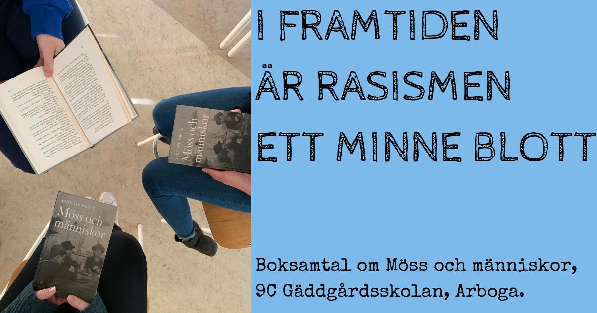 Muntligt framträdande Gäddgårdsskolan Arboga Fredrik Sandström