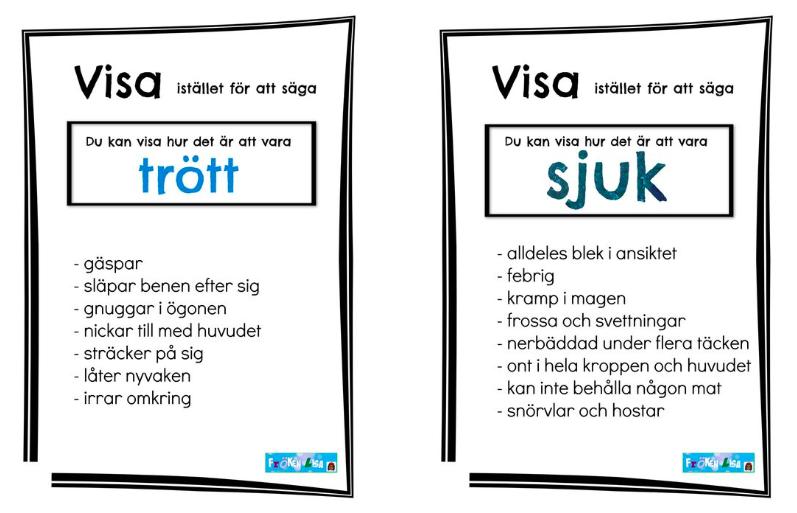 Att gestalta - En lektionsidé i svenska av Lisa Wigforss Amanius