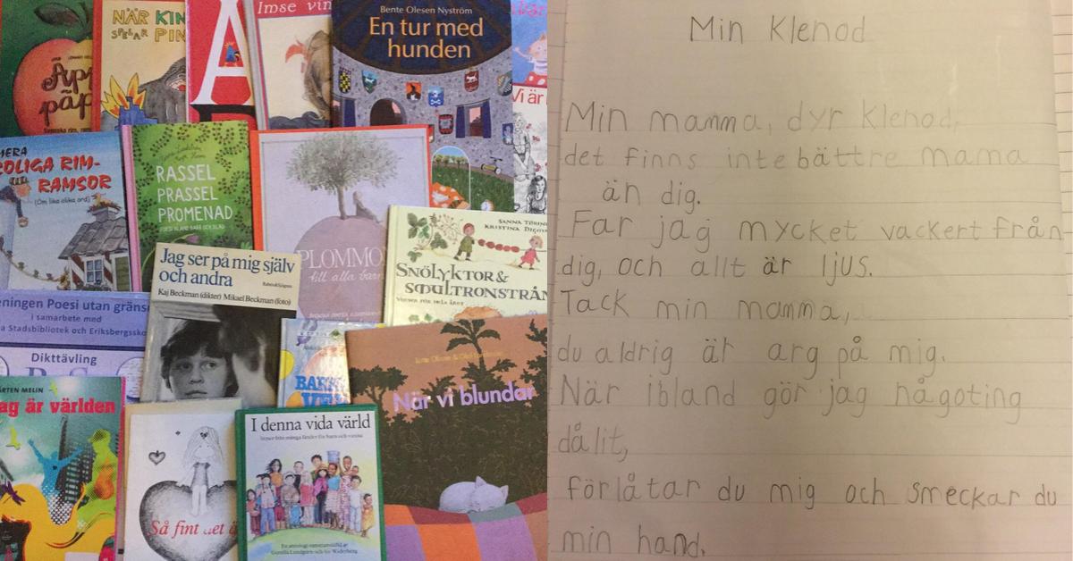 Sara Persson en dikt i veckan