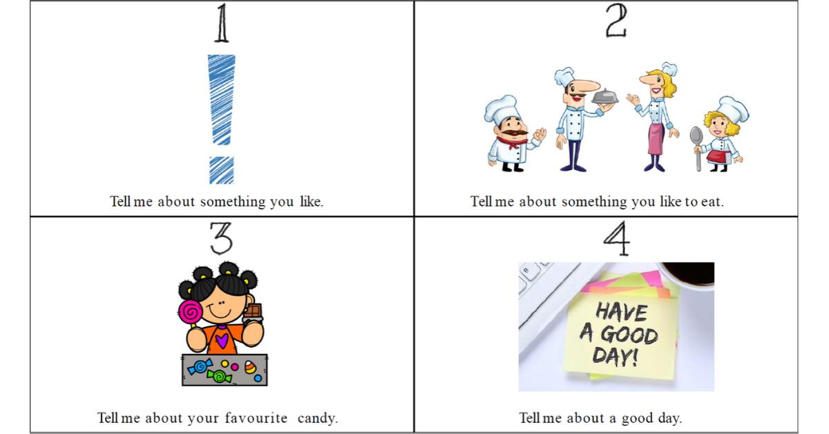 Tell me - Ett samtalsunderlag för engelska i årskurs 1-3 - Engelska för lågstadiet - Uppmuntra samtal