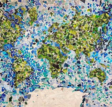 Världen i mosaik - En bilduppgift i ämnesövergripande arbete med SO och geografi