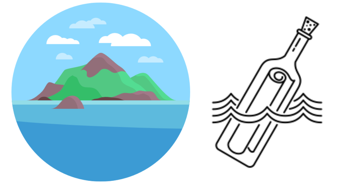 Ön för yngre elever - Ett skrivprojekt som leder eleverna framåt i deras skrivande steg för steg
