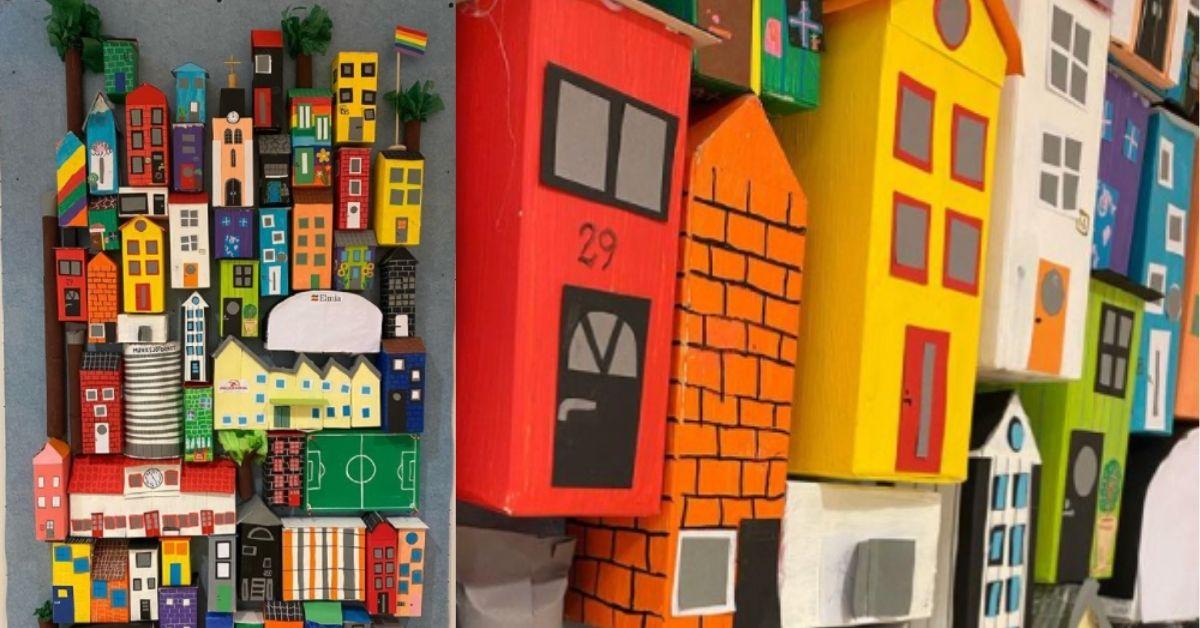 En bild av vår stad - Gemensamt bildprojekt för en hel klass